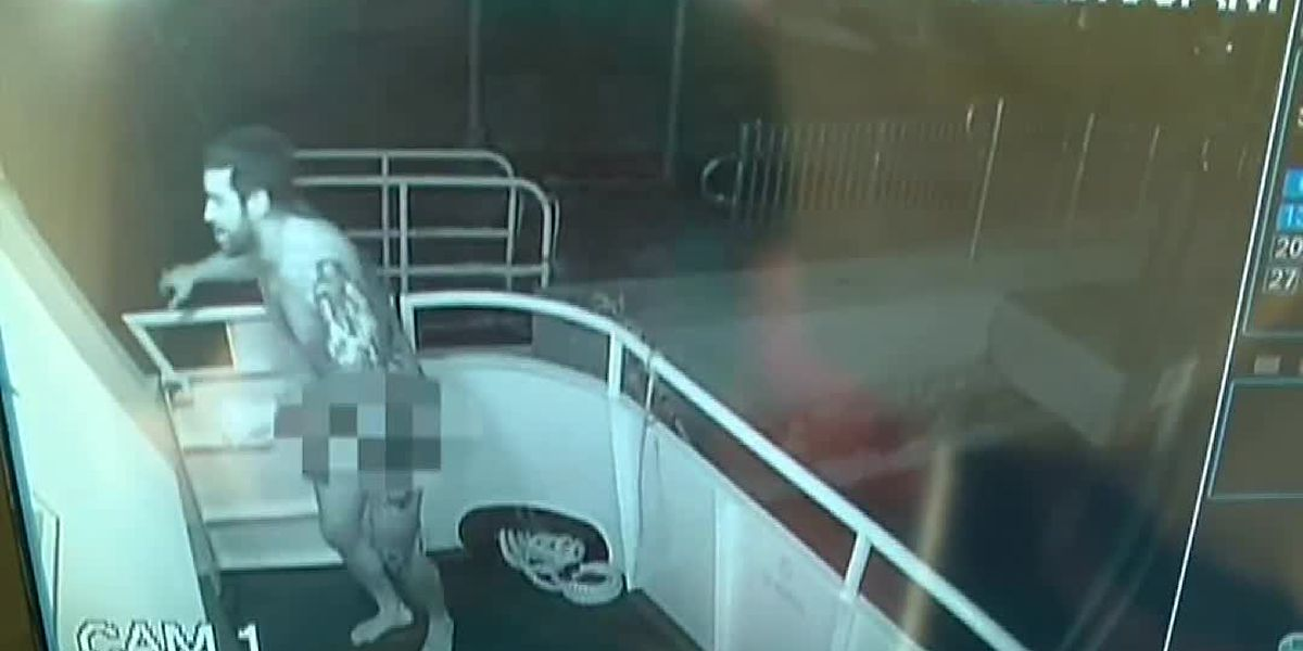 Naked Florida man steals American flag from yacht, police say