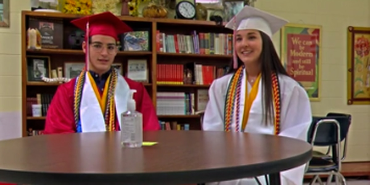 Twins share salutatorian rank at St. Anne-Pacelli Catholic School in Columbus