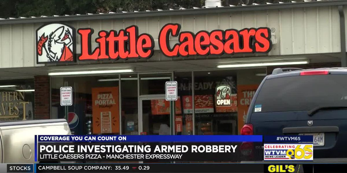 Columbus Police respond to armed robbery at Little Caesars Pizza