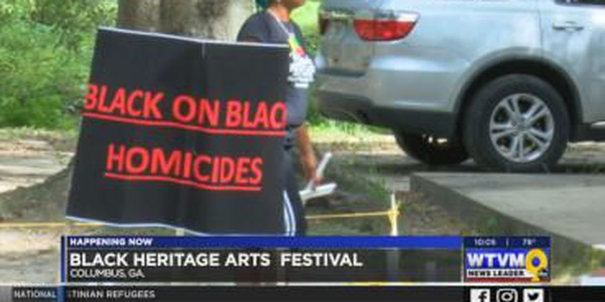 VIDEO: Columbus festival brings awareness to violence, crime and more