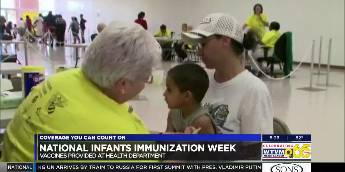 National Infant Immunization Week highlights importance of infant vaccinations