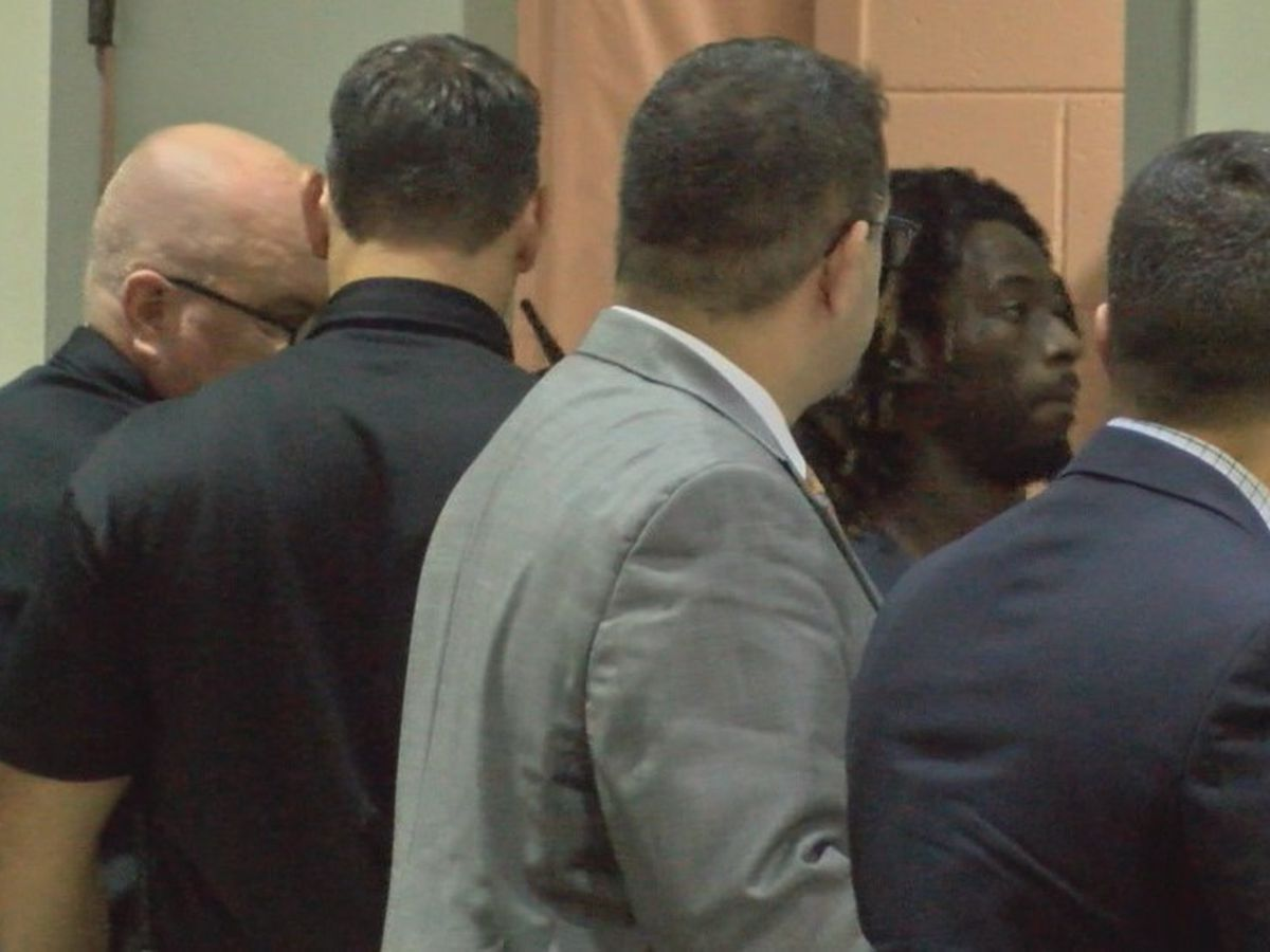 Police say suspect in quadruple murder confesses in interviews, pleads not guilty in court