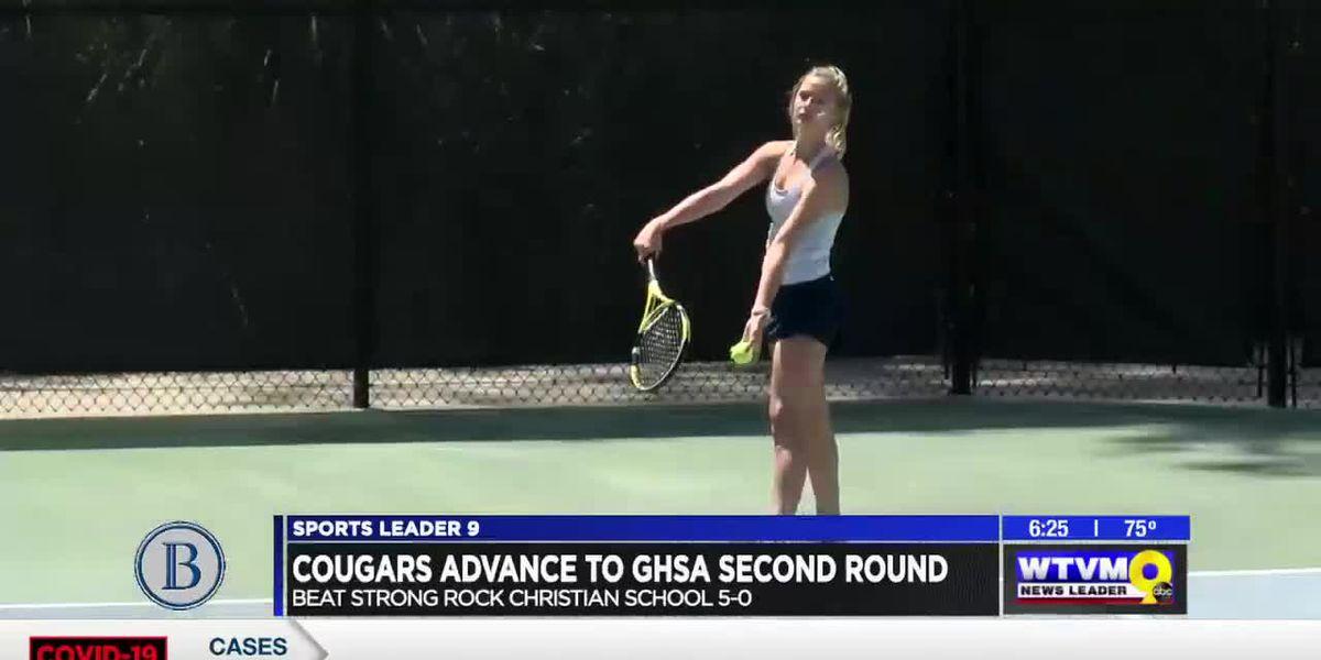 Brookstone tennis advances to GHSA second round