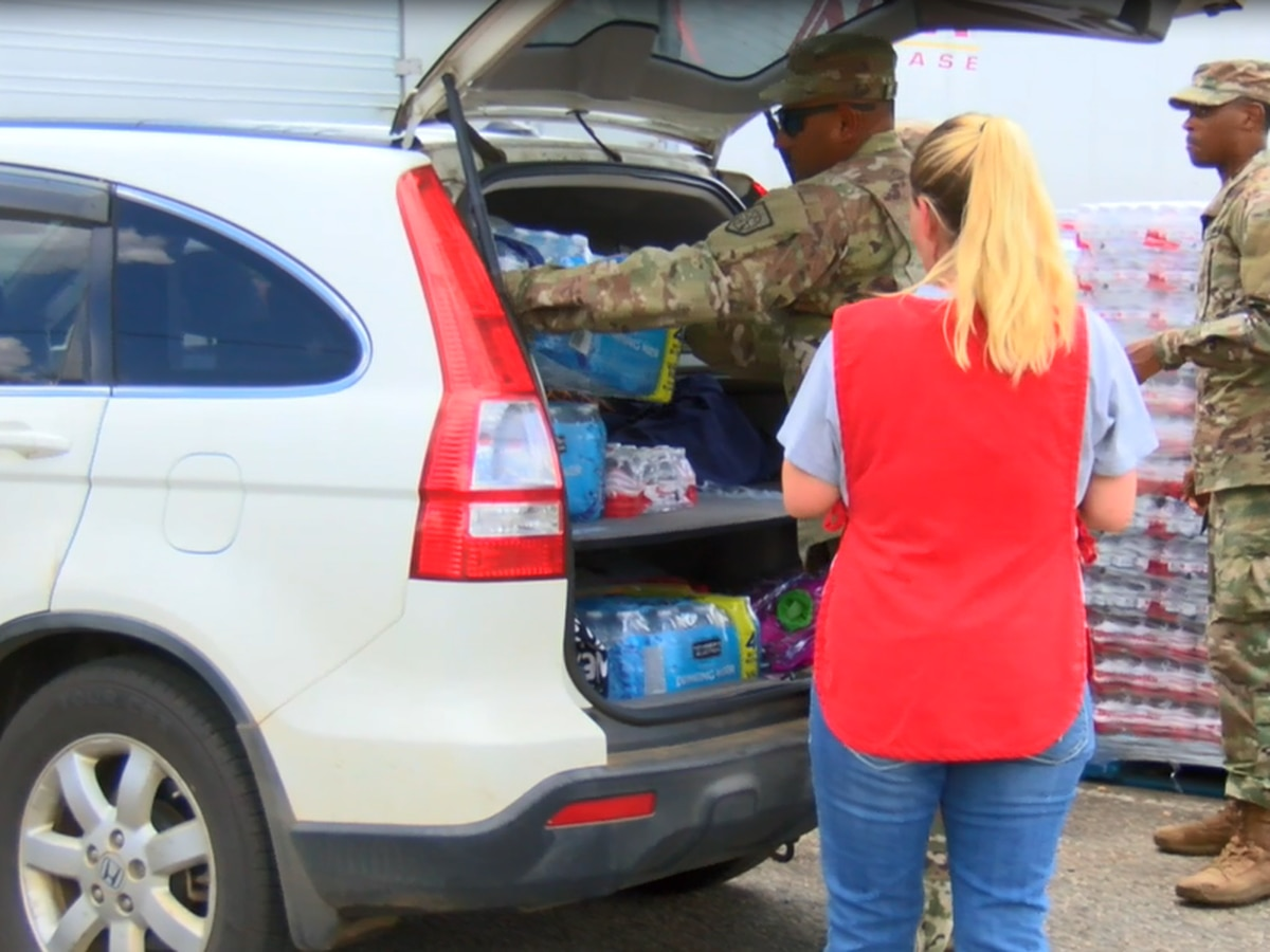 National Guard called to Cuthbert, GA to assist in Hurricane Michael relief efforts