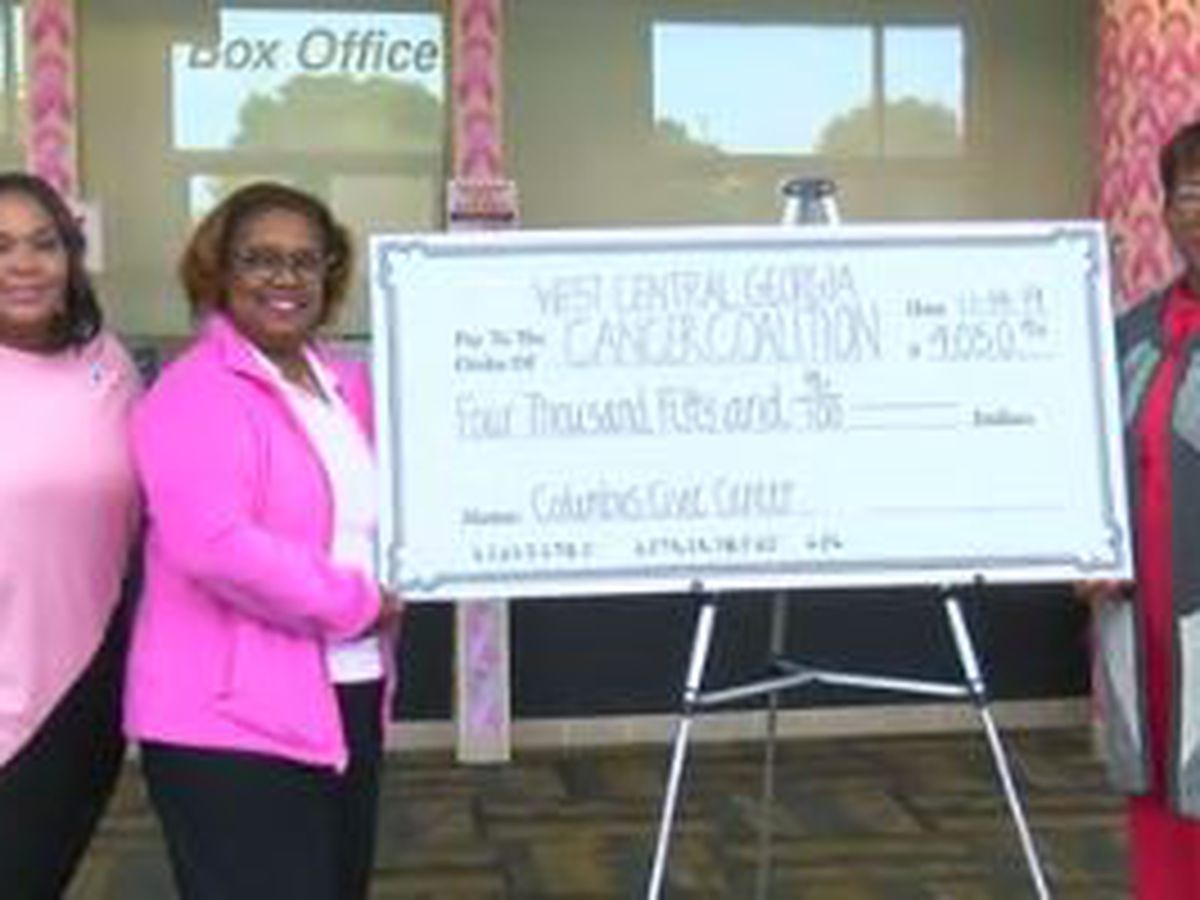 West Georgia Cancer Coalition receives $4K donation, presented by Columbus Civic Center