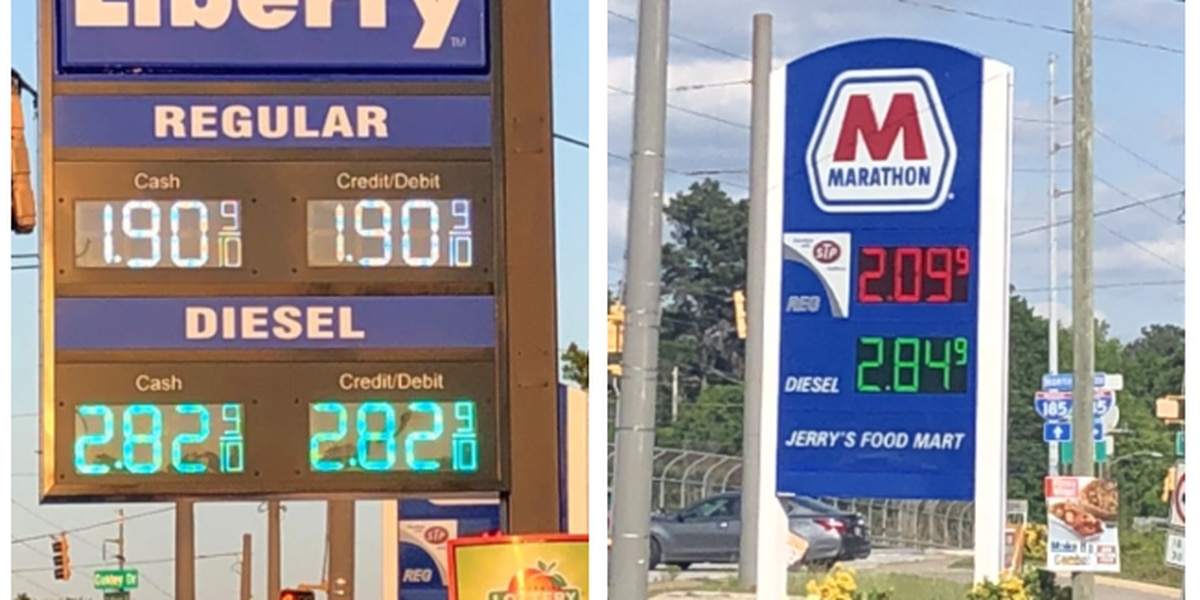 Columbus Gas Prices >> Gas Price War Between Columbus Gas Stations Leads To Many Filling Up