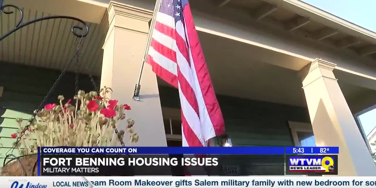 MILITARY MATTERS: Sgt. Maj. of the army tours Ft. Benning and talks military housing challenges