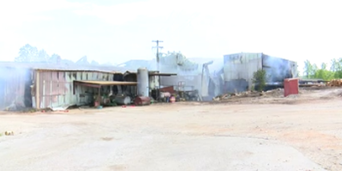 Chambers County lumber company recovering after massive fire