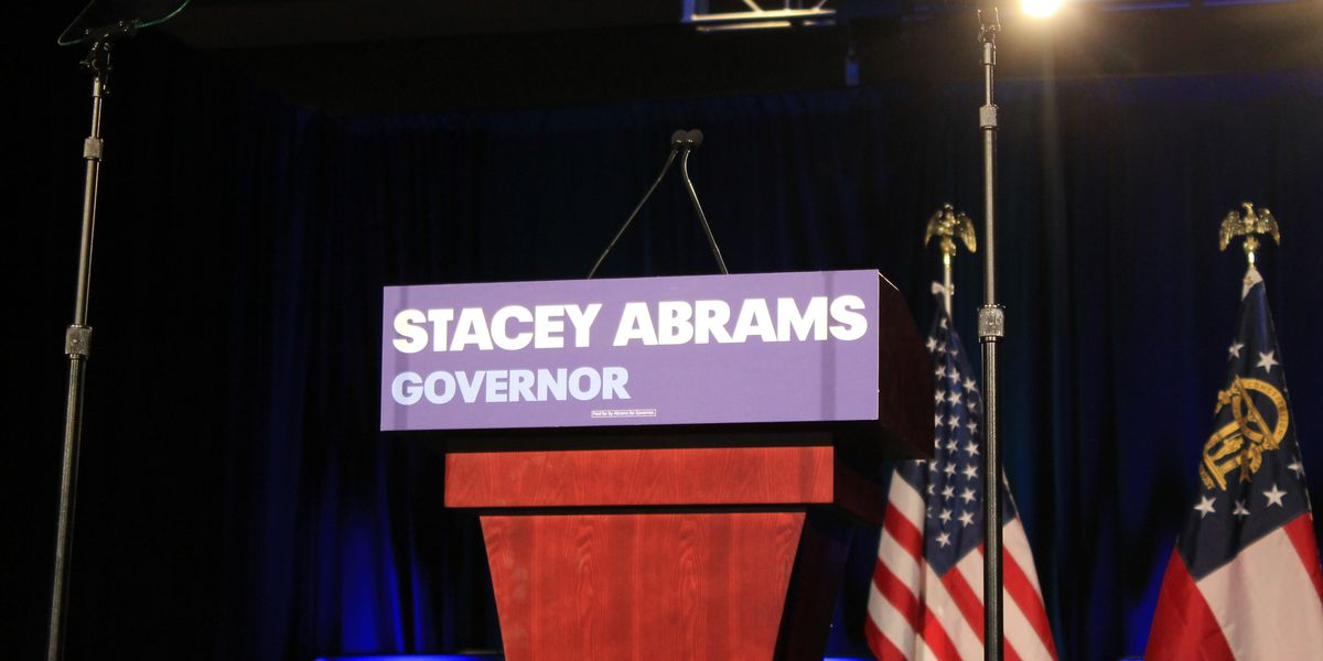 Gubernatorial candidate Stacey Abrams hopes to make history on election night