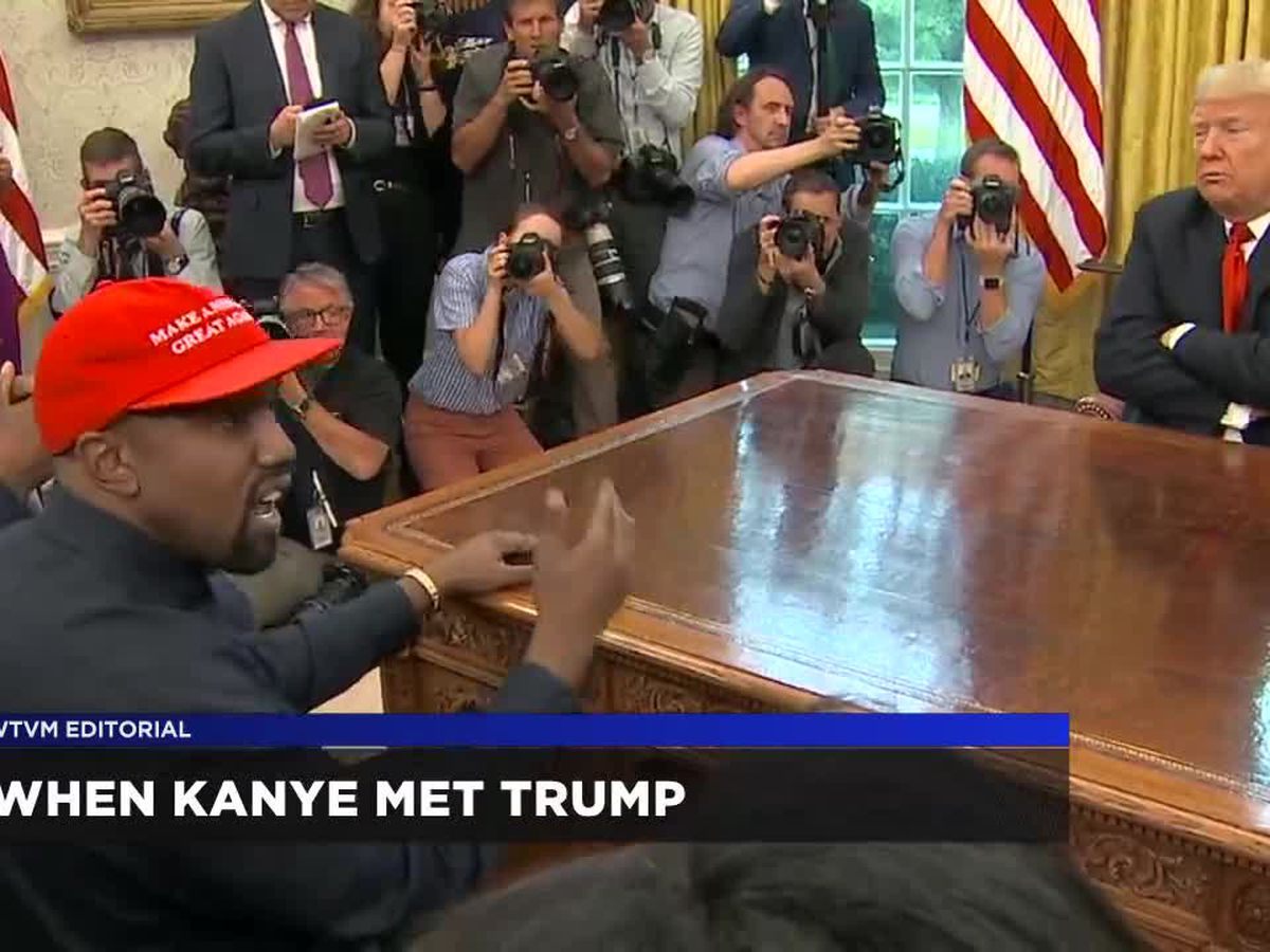 WTVM Editorial 10/16/18: When Kanye met Trump