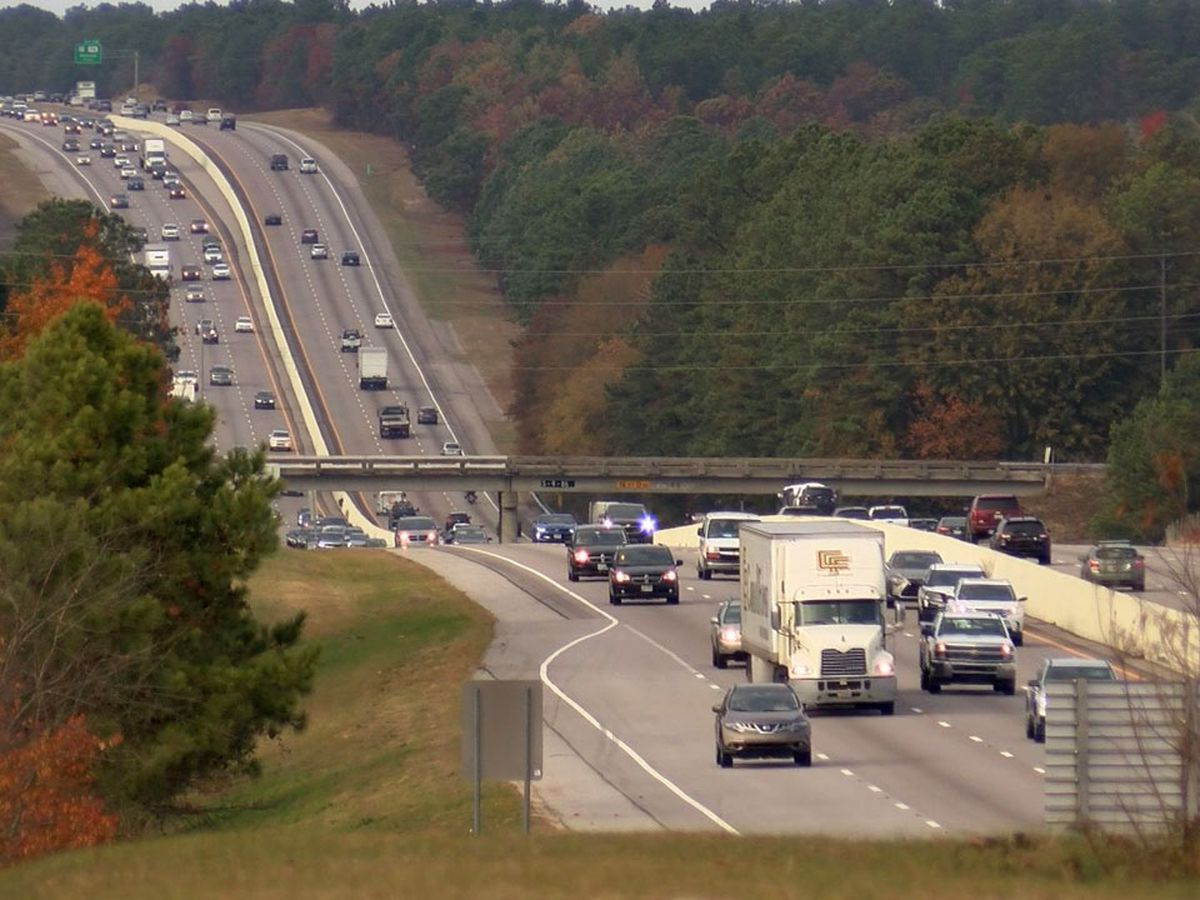 30% decrease in traffic deaths over Thanksgiving holiday in Alabama