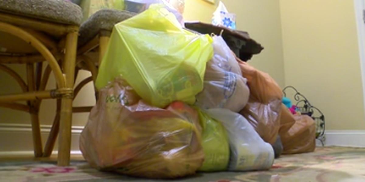 Faith-based organization in Harris County provides food during coronavirus outbreak