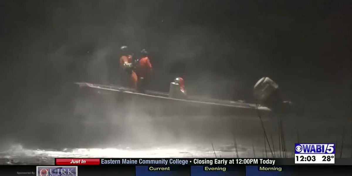 Coast Guard rescues men stranded for hours on river
