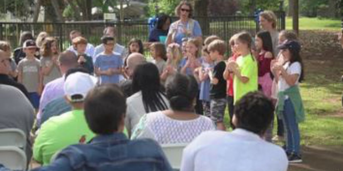 Twin Cedars in LaGrange hosts ceremony to raise awareness of child abuse