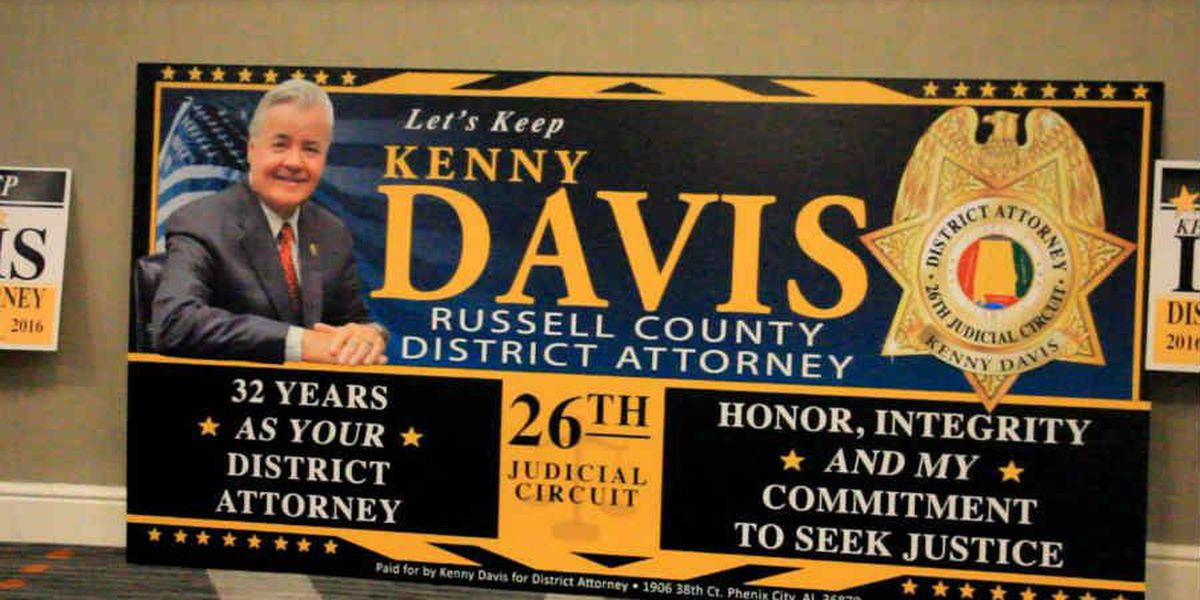 Longtime Russell Co. D.A. kicks off re-election campaign