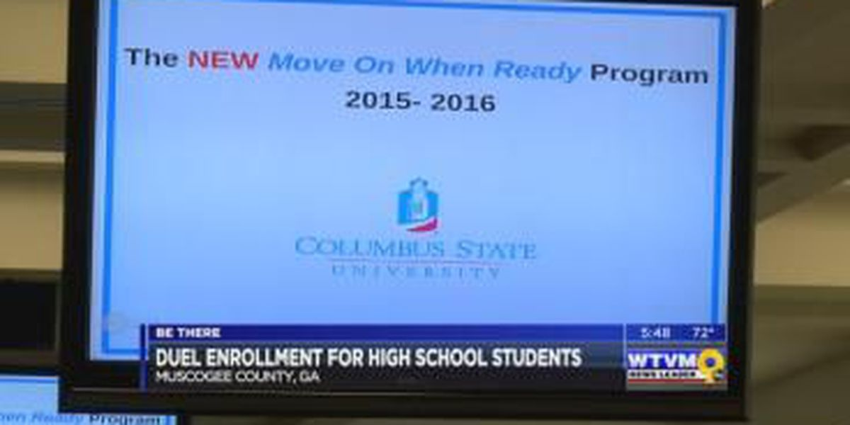 Be There: High school students earn college credit in Dual Enrollment