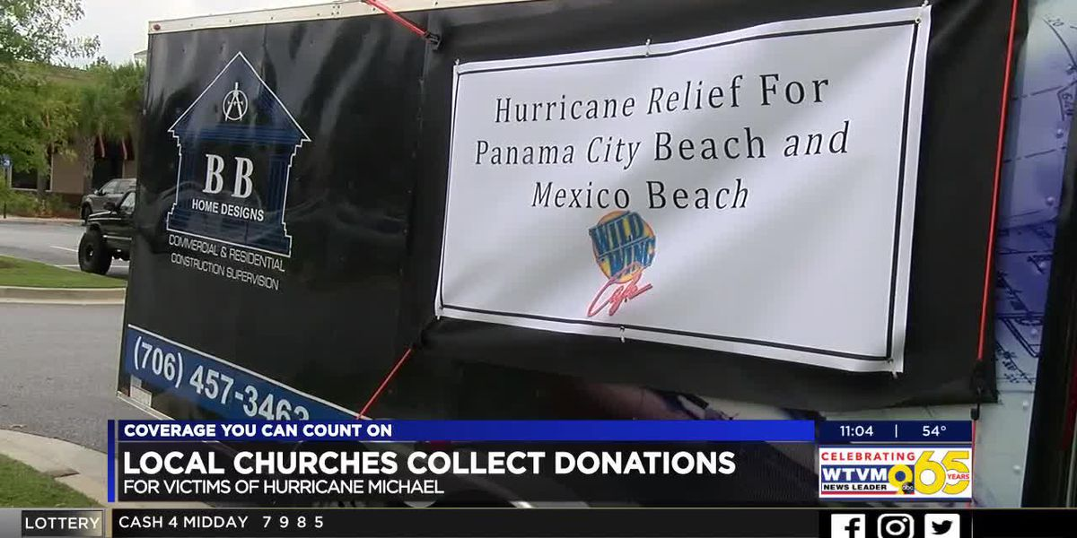 Local church collects donations following Michale destruction