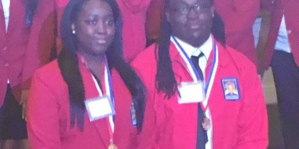 Shaw High School siblings head to national competition in KY