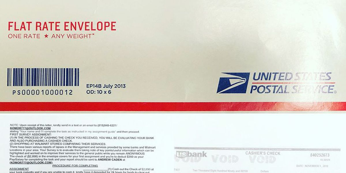 LaGrange police warn of check scam targeting residents by mail
