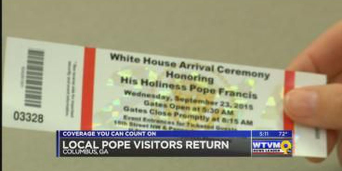 Columbus woman reflects on magical moment with Pope Francis