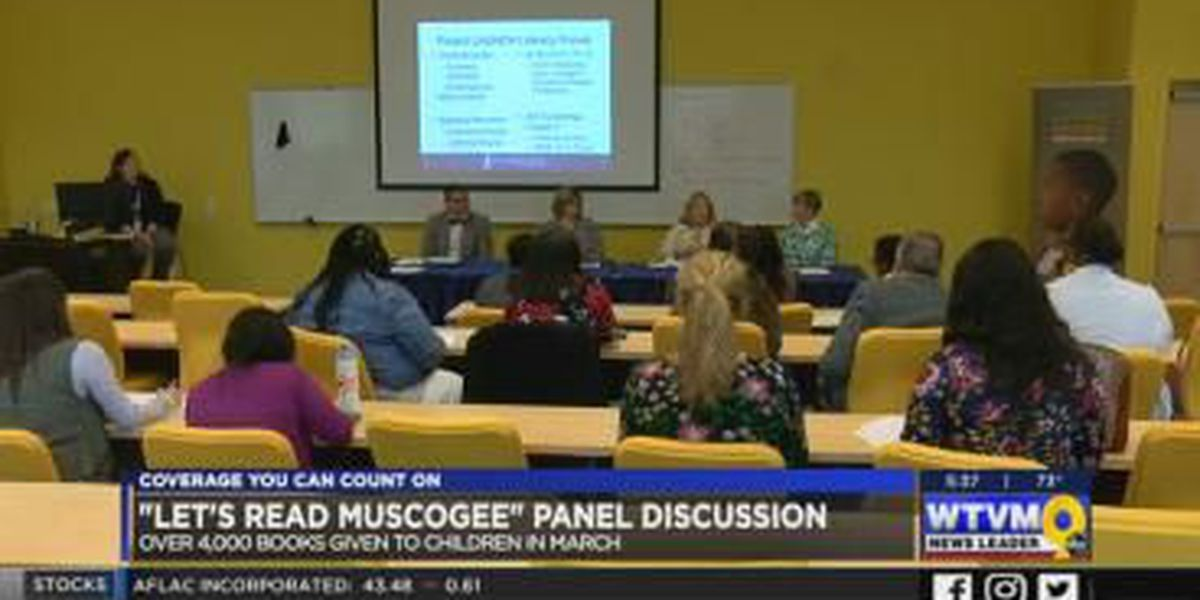 """Project LAUNCH hosts """"Let's Read Muscogee"""" forum"""