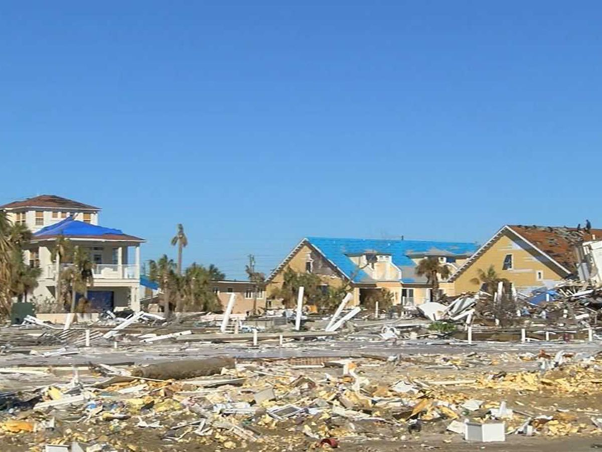 Mexico Beach, FL still in shambles, 3 months after Hurricane Michael