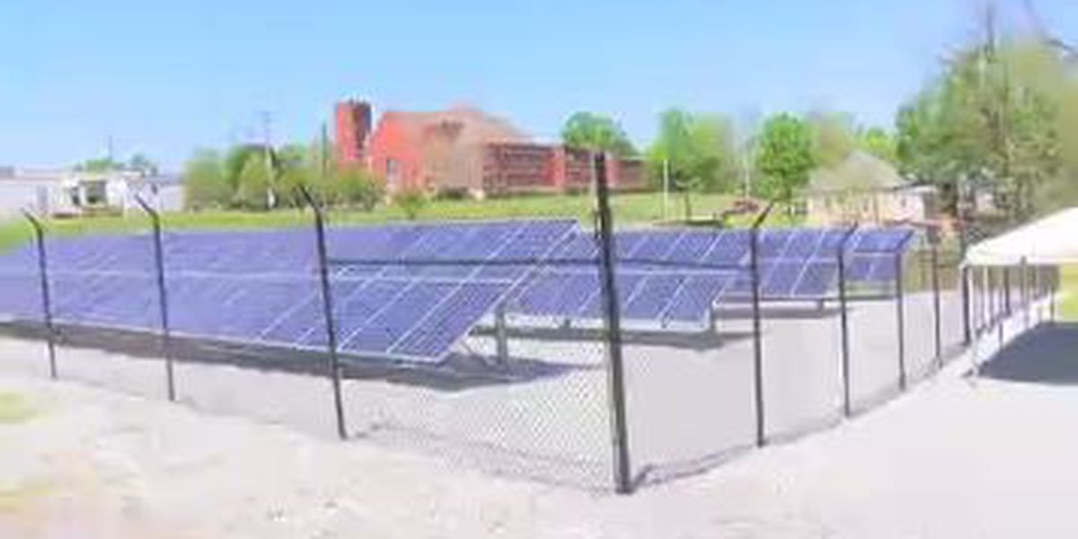 Ribbon cutting held for completion of solar project in Lafayette, AL