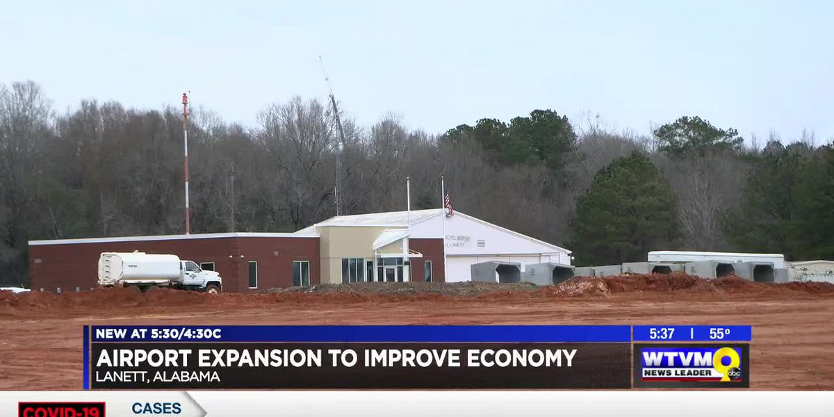 Airport expansion to improve Lanett economy