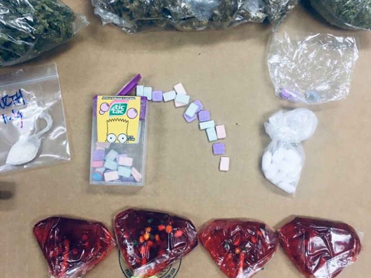 Columbus police confiscate drugs disguised as candy as Halloween approaches