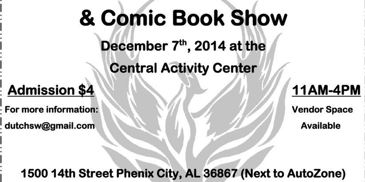 Phenix City Toy and Comic Show to hold Toys for Tots drive