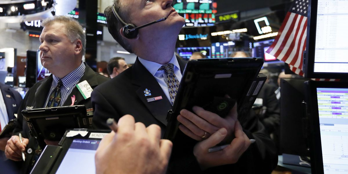 US stocks hold modest gain on final day of volatile year
