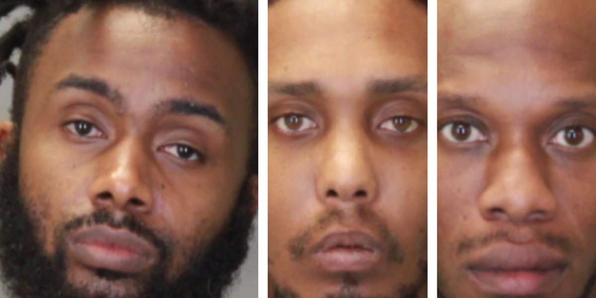 Three men charged with trafficking ecstasy, other drug offenses in Columbus