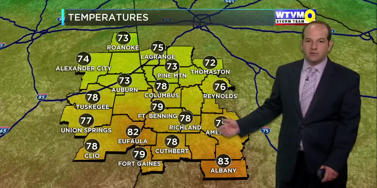 Thursday Evening Weather on the Go