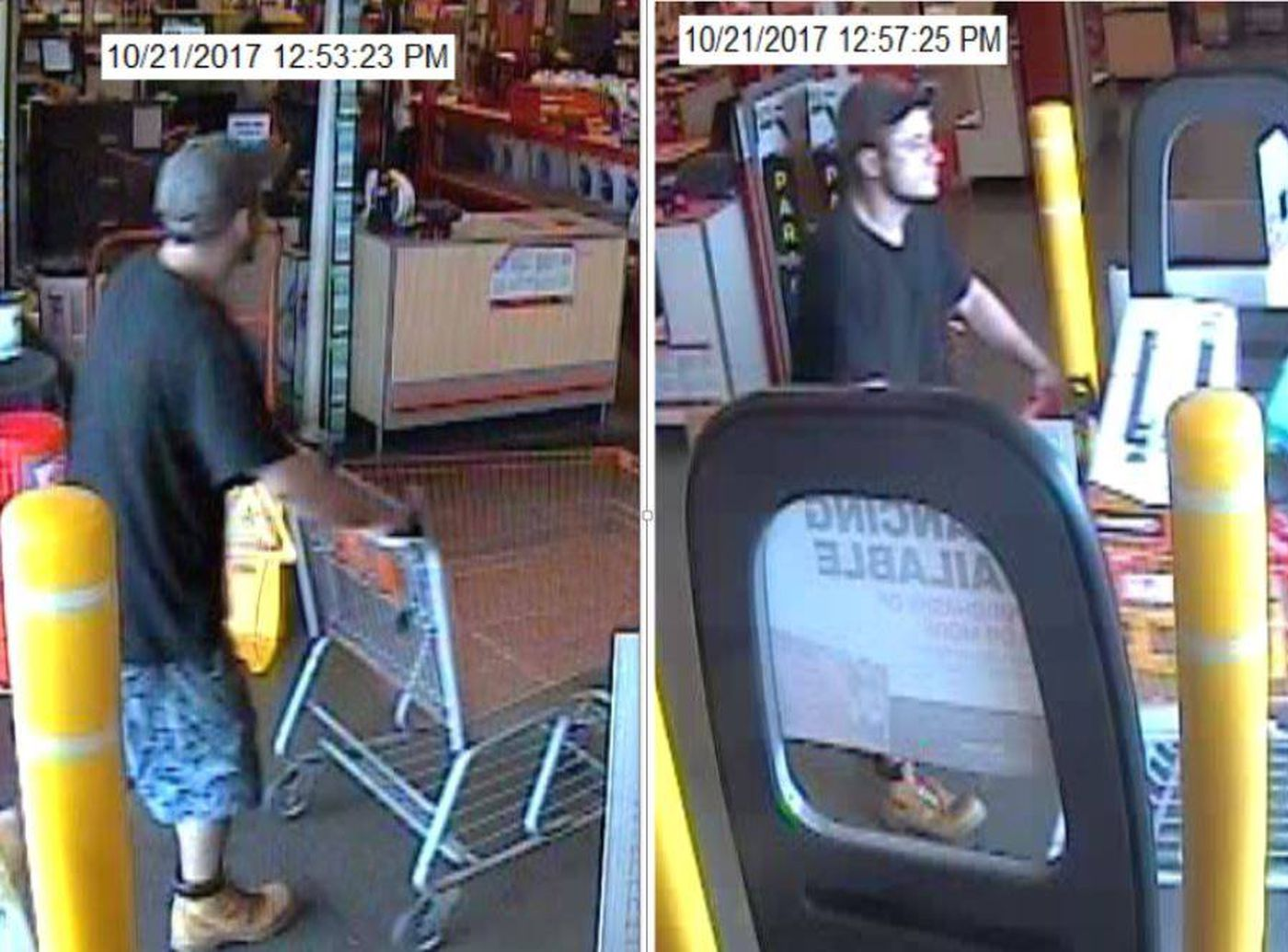 Police Search For Suspect In Theft From Home Depot In Al Ga