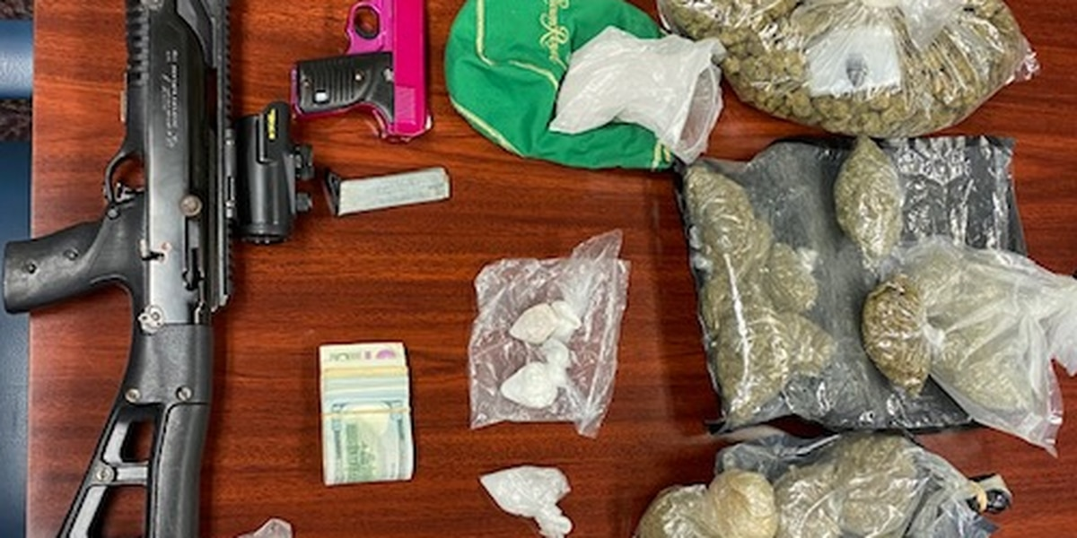LaGrange man charged with drug trafficking after search recovers cocaine, marijuana, and ecstasy