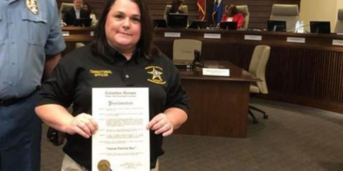 Muscogee County correctional officer honored with Peer Award