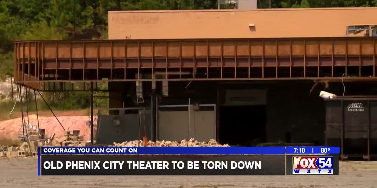 Old Phenix City movie theater to be torn down