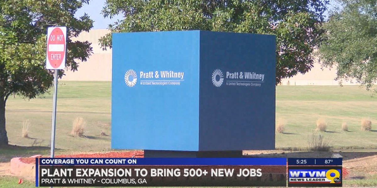 Pratt and Whitney $31 million plant expansion to bring 500+ new jobs