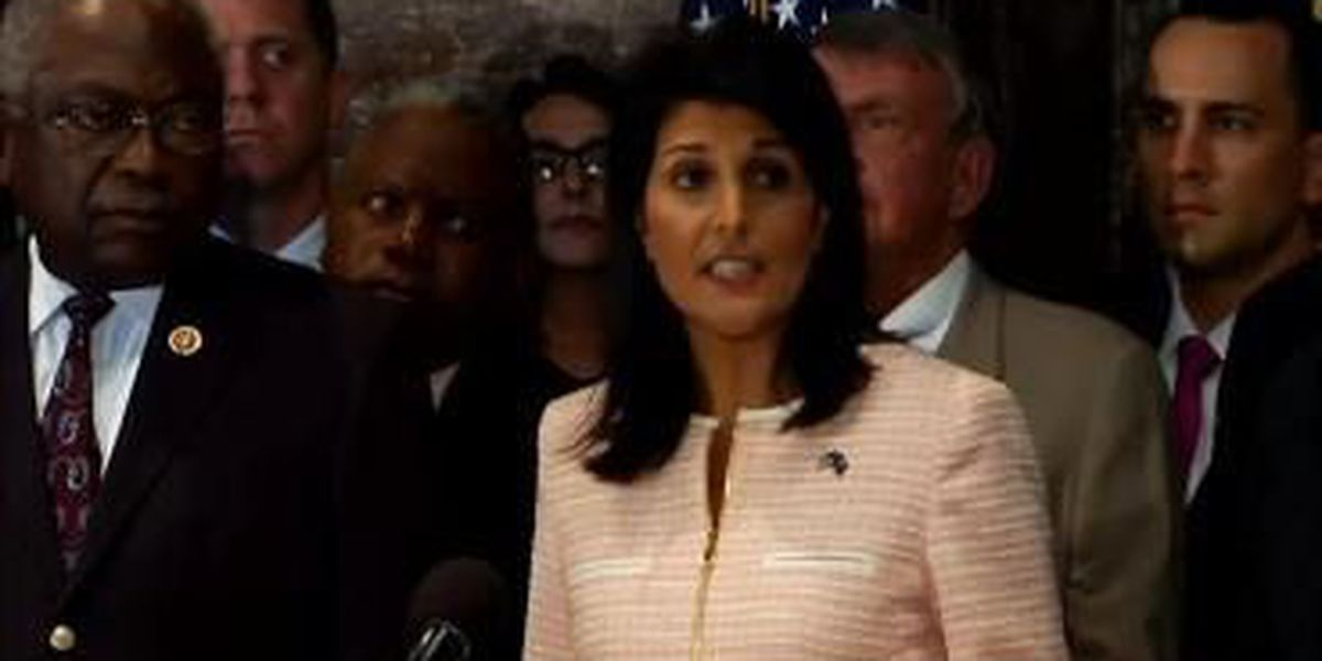 SC Gov Haley: 'Now is the time' to remove Confederate flag from state's capitol