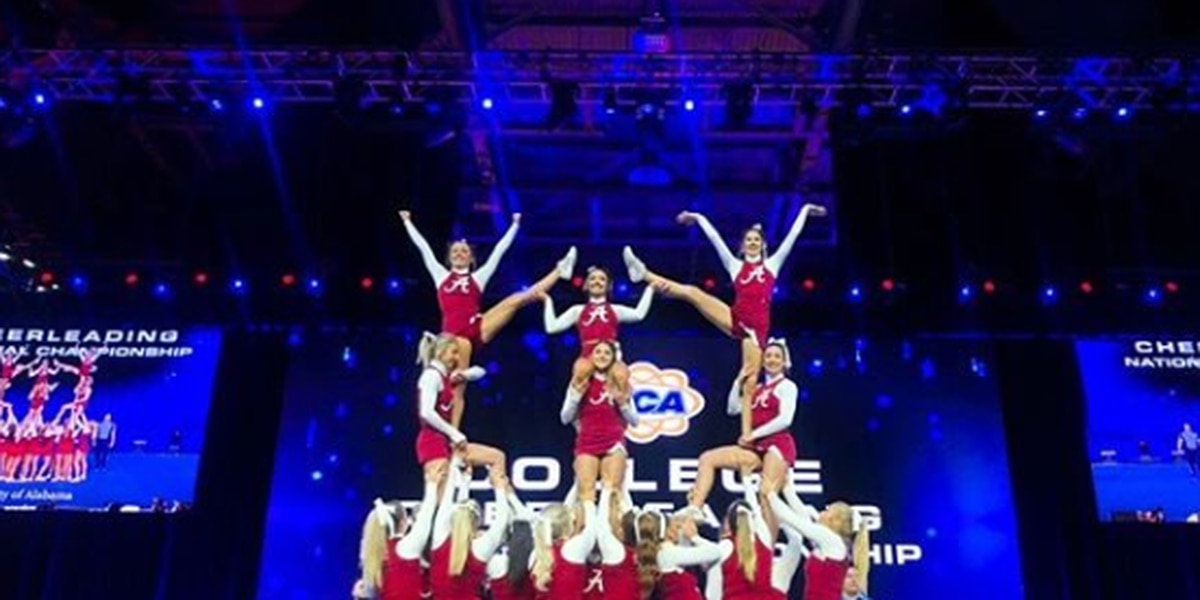 Alabama Cheerleading takes national title in all-girl competition