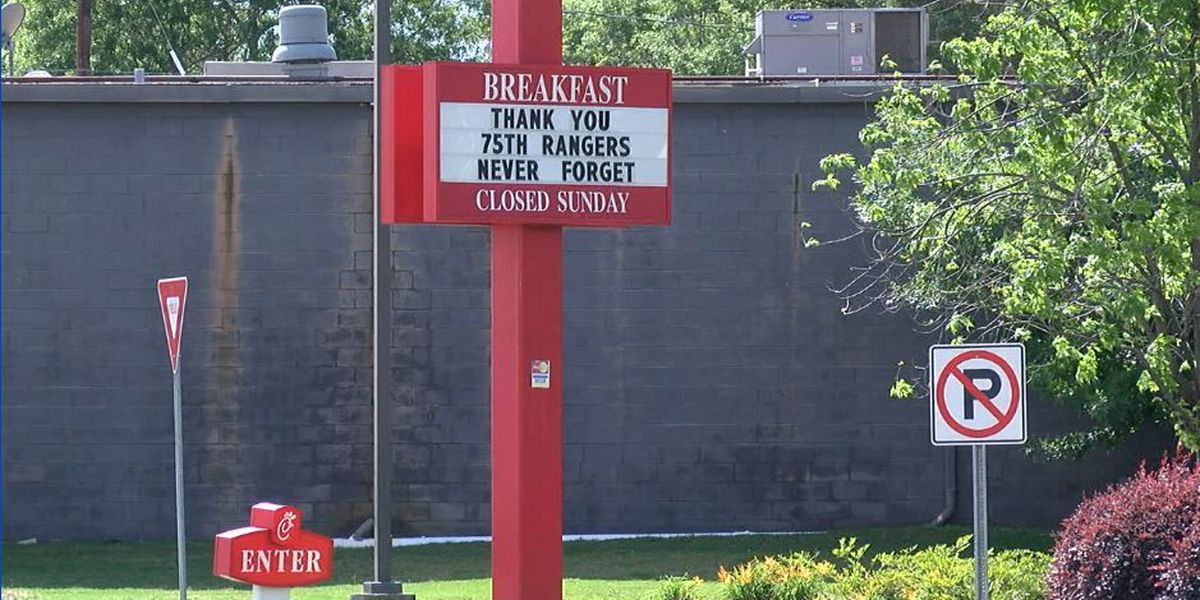 Local Chick-fil-A remembering soldiers killed in Afghanistan