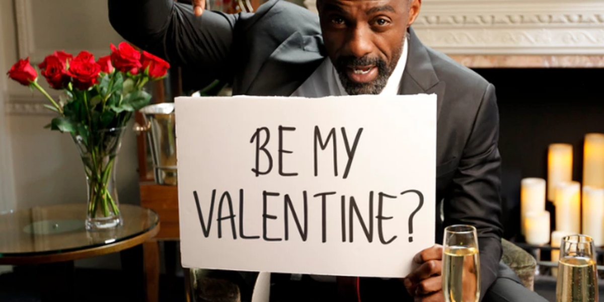 Actor Idris Elba seeks Valentine's Day date in support of charity