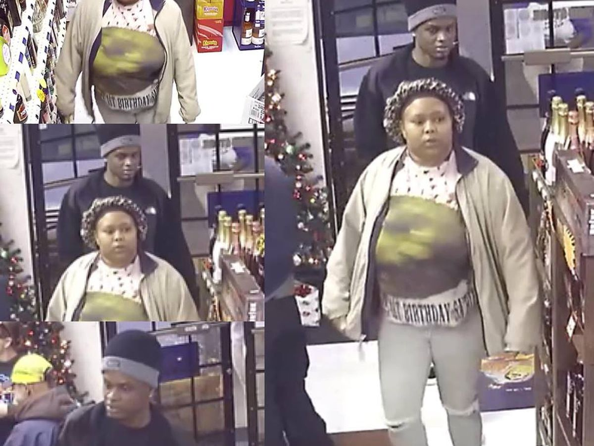 2 wanted in LaGrange for questioning in shoplifting incident at JK Package Store