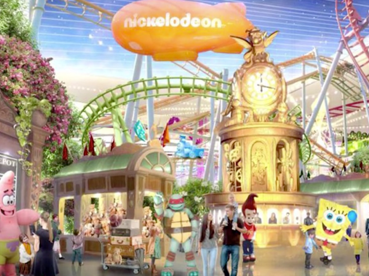 Nickelodeon theme park opening this week