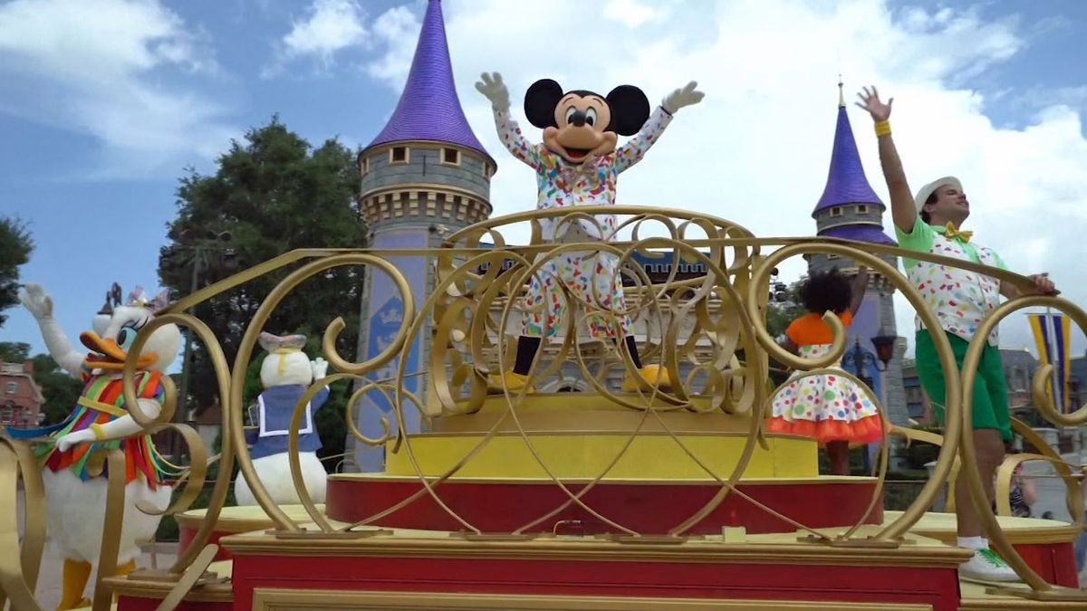Disney CEO says attendance caps at parks being raised
