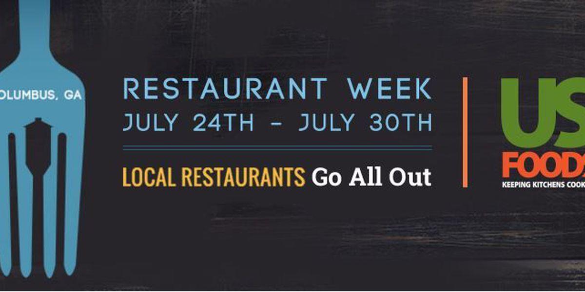 Second annual Columbus, GA Restaurant Week kicks off