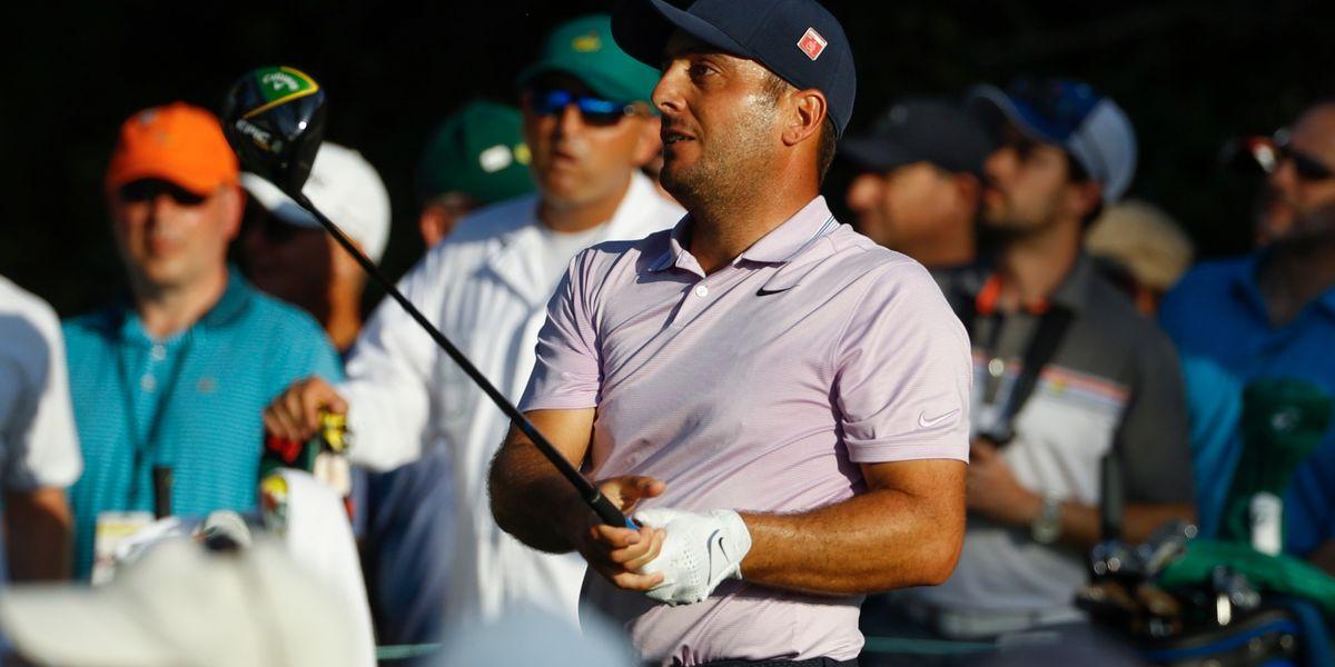 Molinari builds 2-shot lead over Woods, Finau in Masters