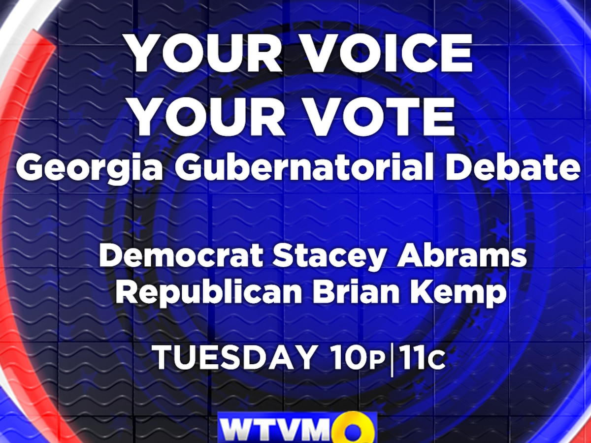WTVM to air Georgia Gubernatorial Debate ahead of November election