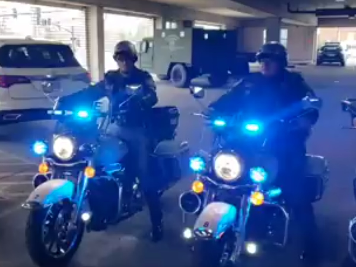 Columbus Police hit the street in 3 brand new Harley Davidson motorcycles