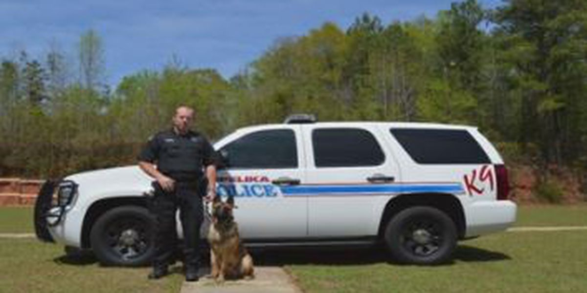 Opelika K9 officer honored for work and dedication to the community